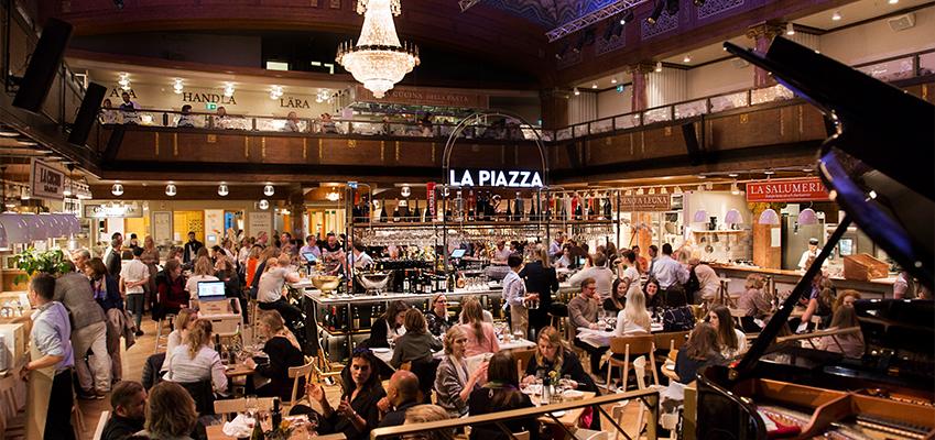 italiensk restaurang med god mat