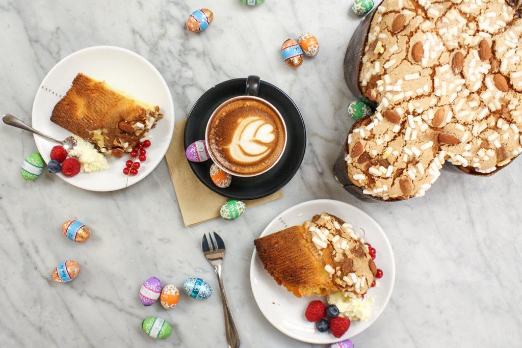Easter cake La colomba