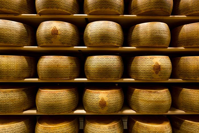 En av italiensk mest älskade ostar Grana Padano
