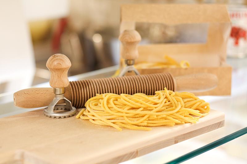 Färsk pasta att ta med hem på Eataly Stockholm