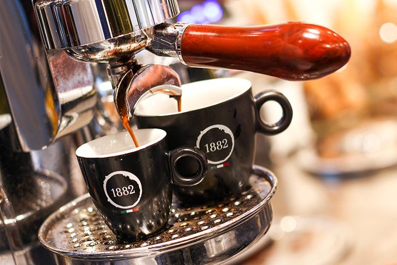 Äkta italienskt kaffe