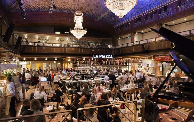 Eatalys restaurang La Piazza