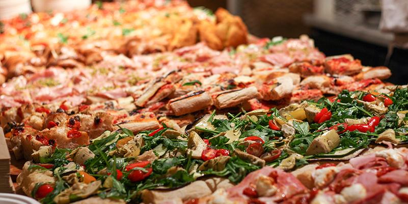 italiensk romersk pizza i stockholm