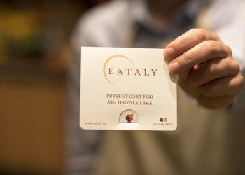 presentkort på Eataly